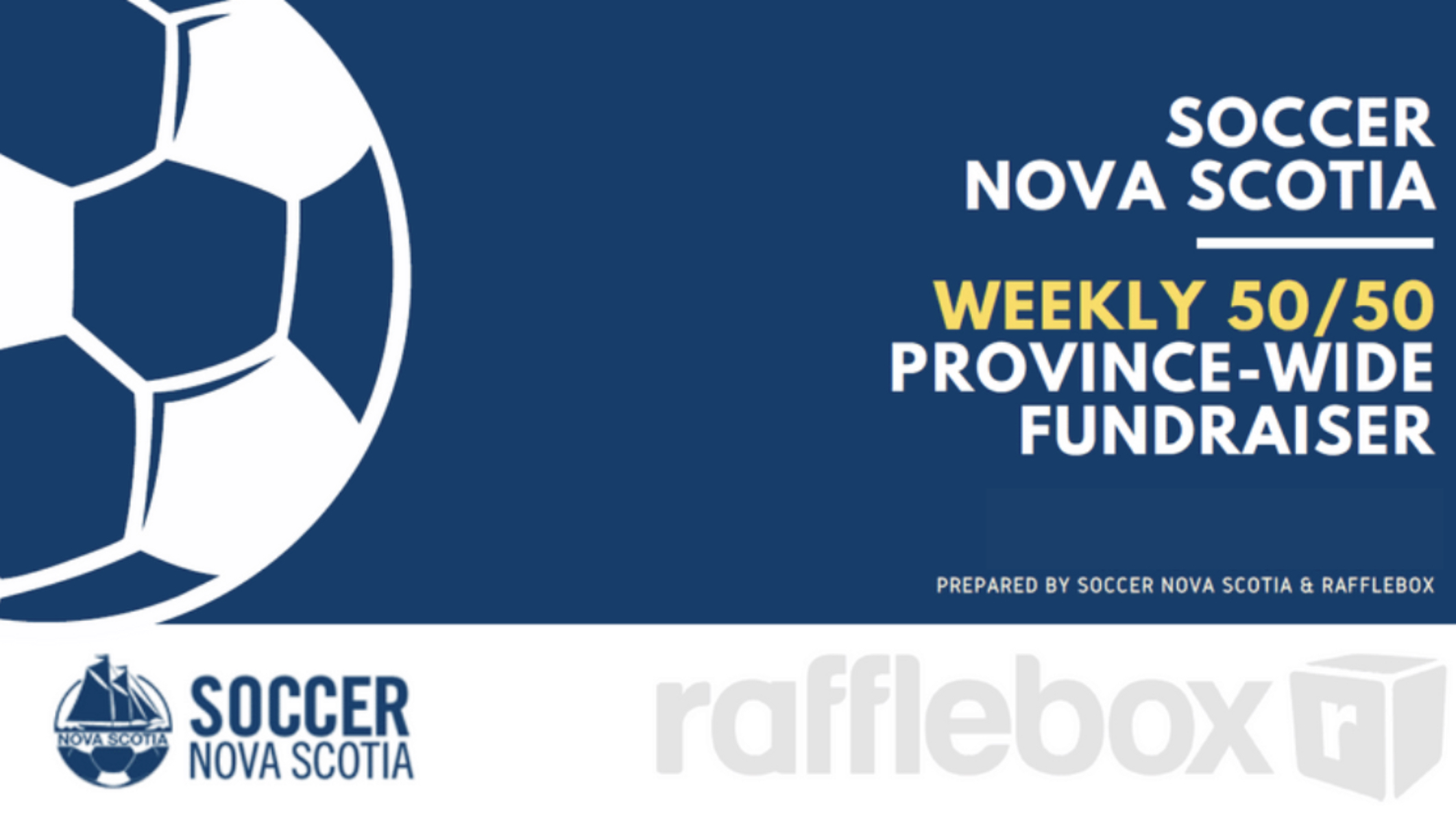 UDFC joins Soccer NS weekly 50/50 draw