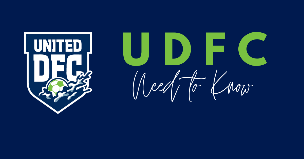 United DFC Need to Know - April 7-14, 2021