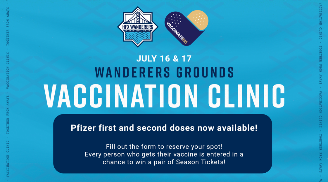 Wanderers Grounds Vaccine Clinic - United DFC - 1st and 2nd Dose Now Available